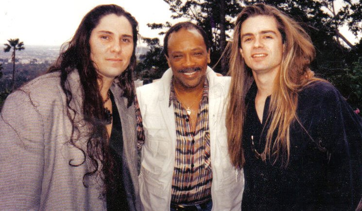 Steven Menconi and Bobby Zoppi with Qunicy Jones signed Agnes Stone to his Qwest label in the mid 90s