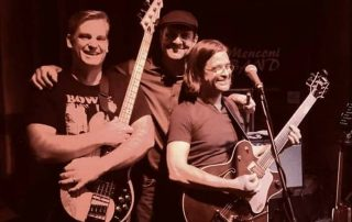 Steven Menconi, Lewis Gale and Dave Naves of The Steven Menconi Band