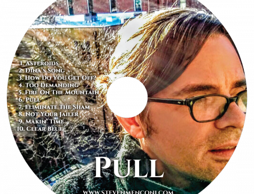 Get The Steven Menconi Band's Latest CD (PULL) – FREE!