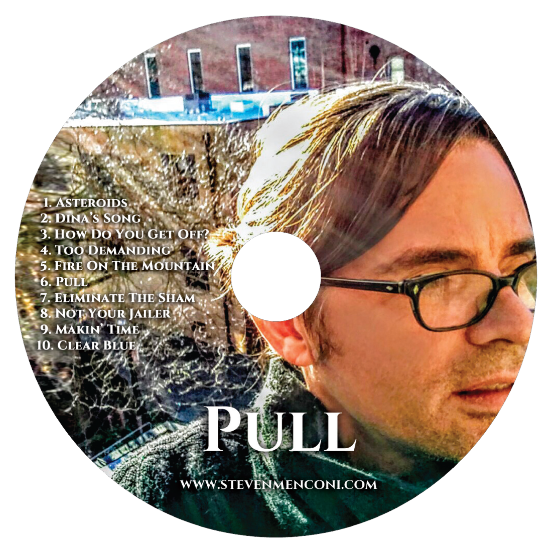 Pull CD - Steven Menconi Band