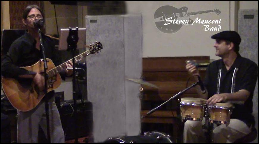 The Steven Menconi Band Duo Photo