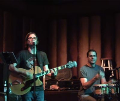 Steven Menconi and Dave Naves of The Steven Menconi Band